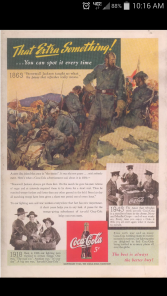 1943 Coca-Cola Marketing Poster