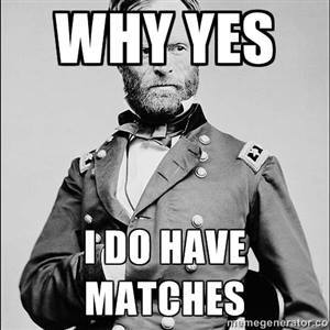sherman matches